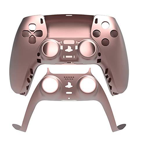 PS5 コントローラーの交換シェル、DIYシェル(前面カバーとバックカバー)コントローラの皮 - PS5のABSシェルケースカバーPS5 DualSenseワイヤレスコントローラ - コントローラーは含まれていません(マルチカラー)