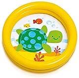 LYYJIAJU Piscina Inflable para bebés Piscina para niños de Juguete Piscina para niños Piscina para niños Piscina para jardín Interior al Aire Libre 61 X 15CM