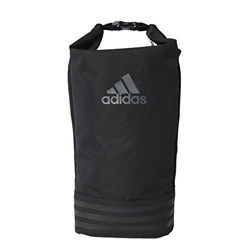 adidas Schuhtasche 3-Streifen, Black/Vista Grey, 36 x 18 x 14 cm
