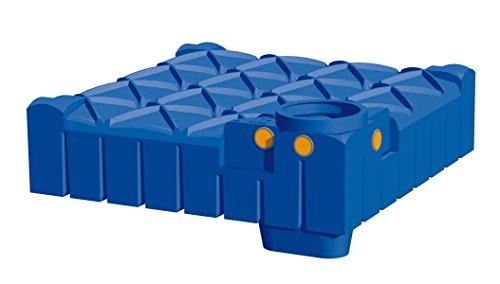 Rewatec Hausanlage Diver F-Line Flachtank 3000 Liter