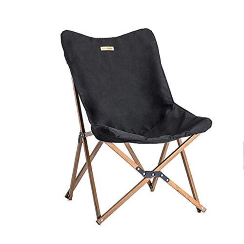 Silla plegable al aire libre Silla Madera Madera Pesca silla for oficina puede acampar de madera ligero del grano de la siesta silla de playa Pesca aijia