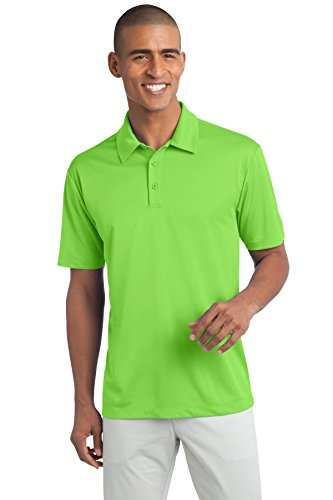 Port Authority Men's Silk Touch Performance Polo L Lime