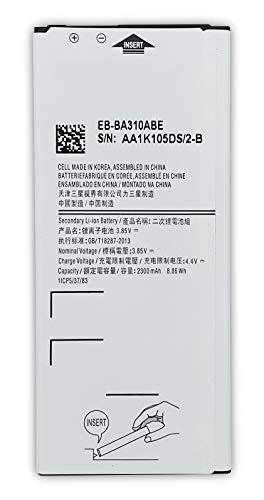 Bateria Compatible con Samsung Galaxy A3 (2016) EB-BA310ABE / SM-A310F /