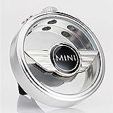 VILLSION 車のロゴの芳香剤の拡散器のエアコンコンセント空気香水のアロマセラピーの拡散器臭気を取り除く, ミニ適合(MINI)