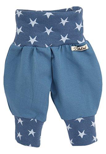 Annsfashion - Pantalon - Bébé (fille) 0 à 24 mois - Bleu - 50 cm/56 cm
