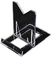 小物 スタンド 透明 スライド 可変式 5セット入(MDS-04)[埼玉_自社倉庫より発送]