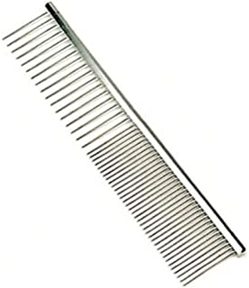 Safari Pet Products Medium Coarse Metal Dog Grooming Comb