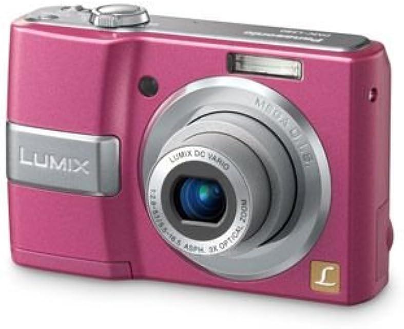 Panasonic DMC-LS80EG-P - Cámara Digital Compacta 8.1 MP - Rosa