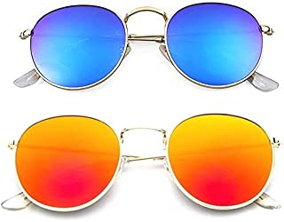 079b8ae97158 Younky Uv Protected Combo Of 2 Wayfarer Men's, Women's, Boy's, Girl's  Sunglasses -