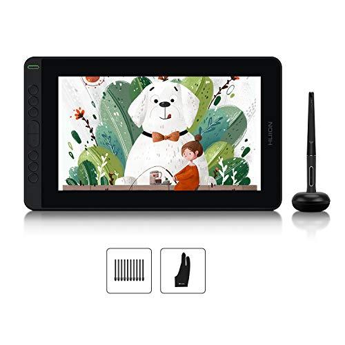 HUION Kamvas 12 Tavoletta grafica Supporto per Android da 11,6 , con stilo senza batteria, 8 tasti Express, senza supporto regolabile - Ideale per apprendimento e lavoro a distanza