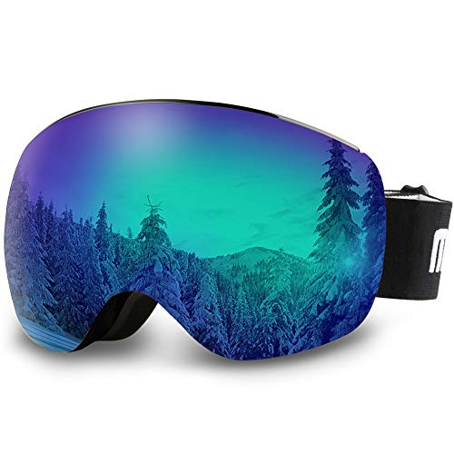Our #4 Pick is the AKASO OTG Ski Goggles