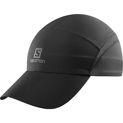 Salomon Anti-UV XA Cap, Cappellino per Allenamenti, Unisex Adulto, Nero/Nero/Grigio (Reflective) Nero (Charcoal), L/XL