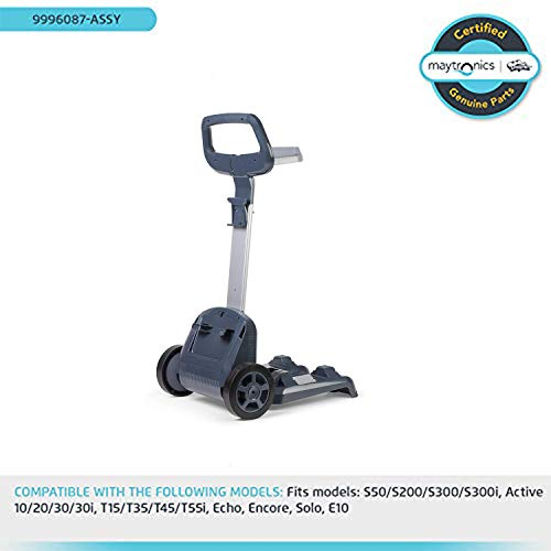 Review Of DOLPHIN Robotic Pool Cleaner Pillar Mount Caddy, Maytronics Part Number: 9996087-ASSY