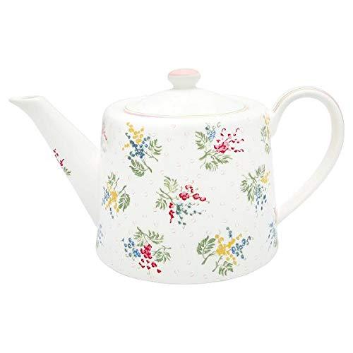 GreenGate - Teapot/theepot - Mira White