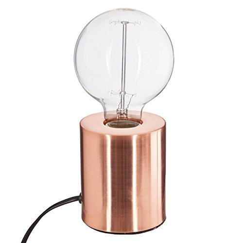 Paris Prix Atmosphera Créateur d'intérieur - Lampe à Poser Tube 10cm Cuivre