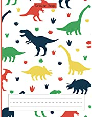 Dinosaur Things: Primary Story Journal | Dashed Midline and Drawing Space | K-2