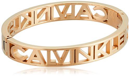 Calvin Klein Pulsera unisex Mania de acero inoxidable S oro 32012745