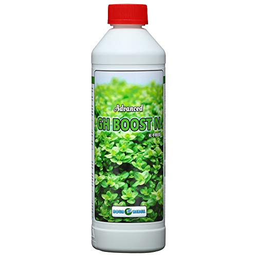 Aqua Rebell ®️ Advanced GH Boost N - 0,5 Literflasche - optimale Versorgung für Ihre Aquarium Wasserpflanzen - Aquarium Eisenvolldünger speziell für Wasserpflanzen entwickelt