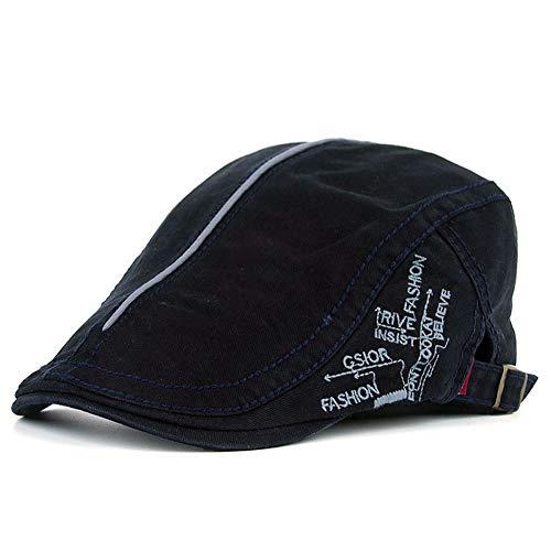 Adantico Uomo Cotone Cappello Flat cap (E)
