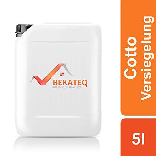 BEKATEQ BE-854 Cotto Terracotta Keramik Versiegelung, 5l, wasser- und schmutzabweisend, gebrauchsfertig, innen und aussen, effektiver Langzeitschutz