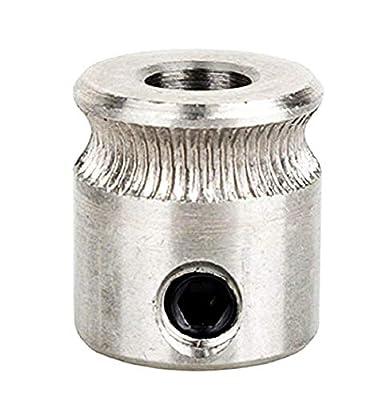 Drive pulley gear mk7 - extruder gear - extruder shaft 12mm 1.75-3.00 mm filament - 5 nema - christmas and birthday gift idea