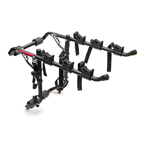Vuelta Deluxe – Portabicicletas para 3 Bicicletas, Color Negro