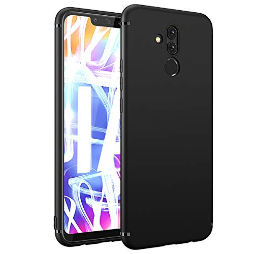 BENNALD Hülle für Huawei Mate 20 Lite Hülle Soft Schutzhülle Case Cover - Premium TPU Tasche Handyhülle für Huawei Mate 20 Lite (Schwarz,Black)