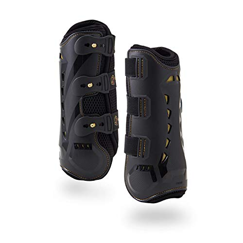 Dressage Boots for Horses by Kavallerie: Pro-K 3D Air-Mesh Horse Boots, Secure Leg Protection,...