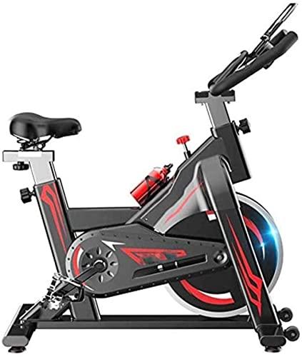 Cyclette verticale Cyclette silenziosa Fitness cyclette Sport indoor Pedal bike Attrezzatura per il fitness aerobico Manico regolabile Resistenza infinita Ec