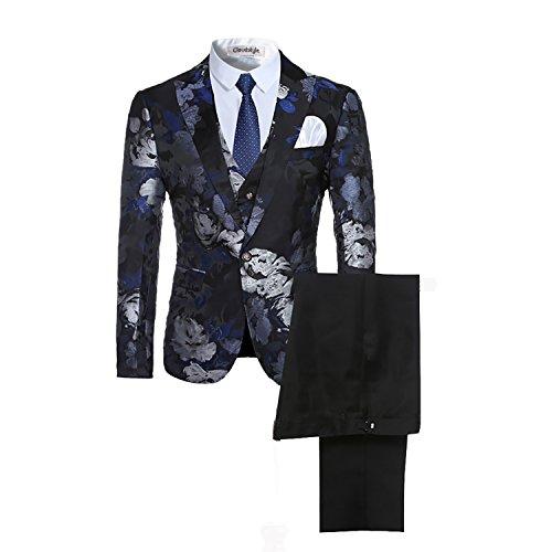 Cloud Style - Traje - para Hombre Azul Azul M