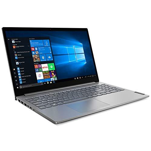 Lenovo ThinkBook 15 IIL Ordinateur Portable 15,6  FHD (Intel Core i3-1005G1, 8 Go RAM, 256 Go SSD, Windows 10 Pro, Gris) - Clavier AZERTY Rétroéclairé