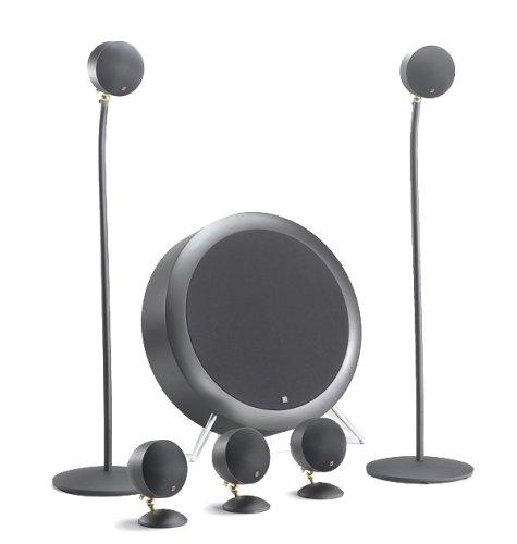 peerless satellite speakers Morel Nova MKII SoundSpot 5.1 Speaker System (Black)
