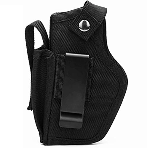 wipboten Concealed Carry Holster Universal Holster IWB OWB Magazine Holster for Right and Left Hand with Interchangeable Metal Clip
