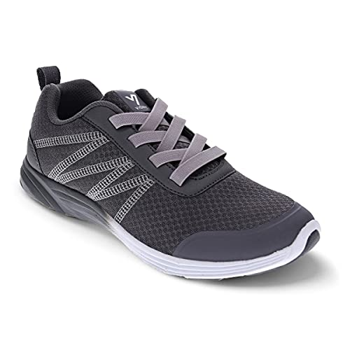 Vionic Shay Women's Casual Supportive Sneaker Black - 8.5 Wide