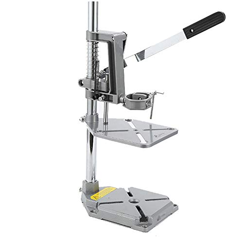 For Sale! Mini Portable Drill Press, Bench Drill Stand Ideal Iron Base Drilling Hole Station for Dri...