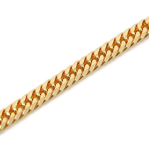 K18 金 喜平 ネックレス 6面W カット 10g 50cm 中折れ式金具