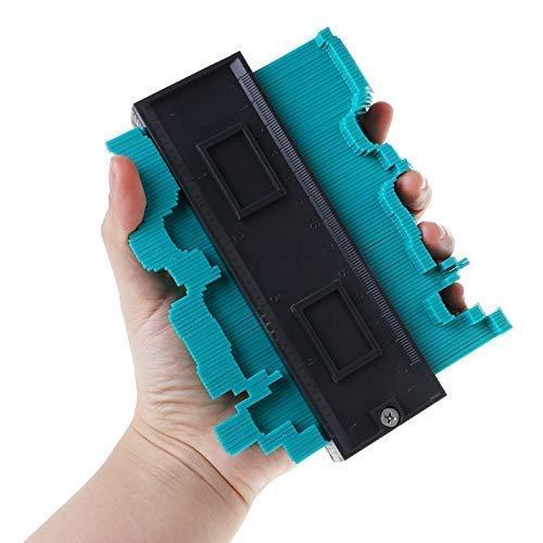 Medidor de contorno de plástico, calibre de perfil de 10 pulgadas, regla de medición, medidor duplicador de contornos, medidor de perfiles, Indicador de Contorno De PláStico: Amazon.es: Bricolaje y herramientas