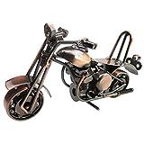MINGZE Modelo De La Motocicleta De Hierro, Creativo Personalizados Regalo De Los...