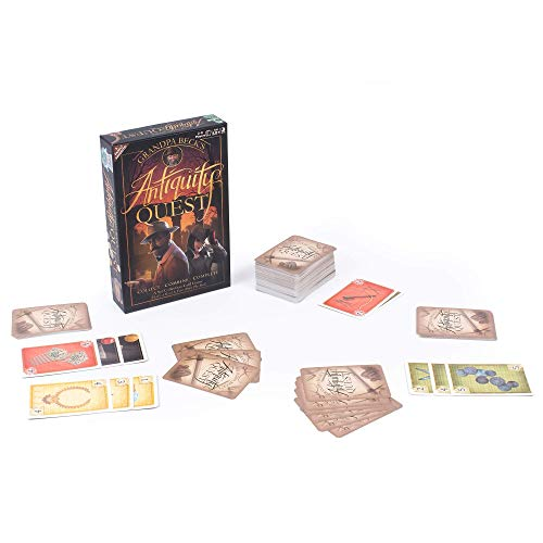 Antiquity Quest | A Set Collection Game from The Creators of Cover Your Assets & Skull King, Grandpa Beck's Games | 2-8 Players 10+