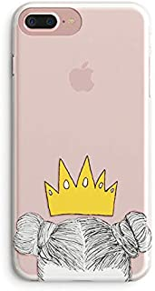 iPhone 7 Plus Case for Her,iPhone 8 Plus Case,Cute Couples Things for Girls Boys,You Are My King Queen Princess & Prince Couple Matching Funny Soft Clear Women Case Compatible for iPhone 7 Plus/8 Plus