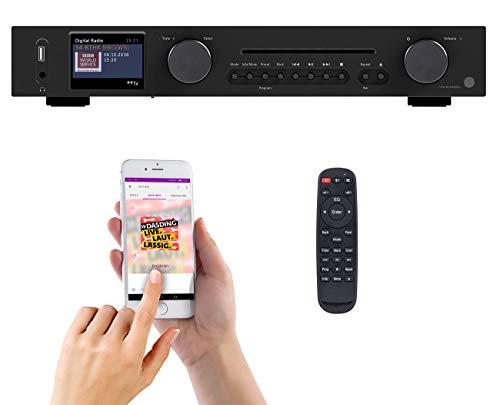 VR-Radio Netzwerkplayer: WLAN-HiFi-Tuner mit Internetradio, CD, DAB+, UKW & Bluetooth, MP3/WMA (Digital Tuner)