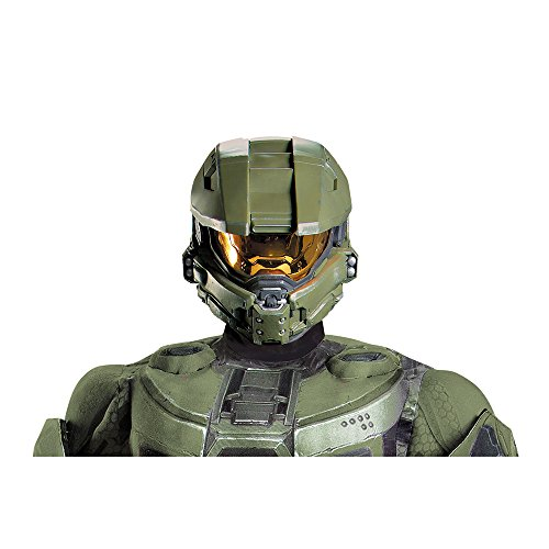HALO Master Chief Adult Full Helmet Costume Accessory