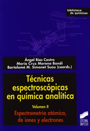 Espectrometría atómica, de iones y electrones (Técnicas espectroscópicas en química analítica)