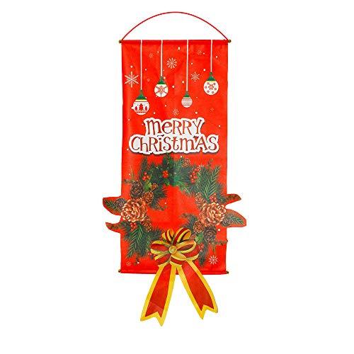 PovKeever - Tapiz de Navidad para colgar en la pared de Navidad