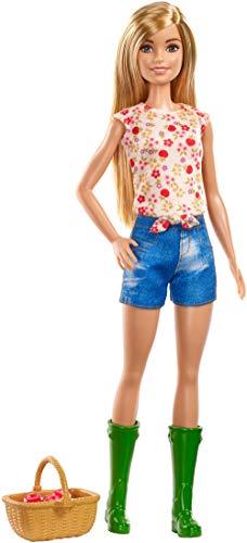 Barbie GCK68 - Spaß auf dem Bauernhof Barbie Puppe