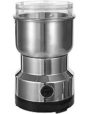 آلة تحضير القهوة الكهربائية من أنسيلف 150 واط 300 مل من الفولاذ المقاوم للصدأ خلاط لحوض المطبخ والمكتب والاستخدام المنزلي حبيبات آلة تقشير