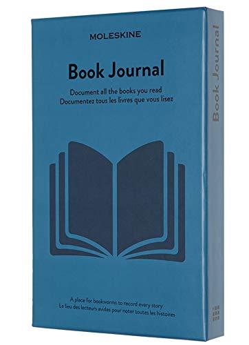 Moleskine Book Journal (Themen-/ Hardcover Notizbuch zum Sammeln und Organisieren Ihrer Bücher, 13 x 21 cm, 400 Seiten)