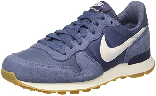 Nike Damen Internationalist Laufschuhe, Mehrfarbig (Diffused Blue/Summit White 001), 37.5 EU