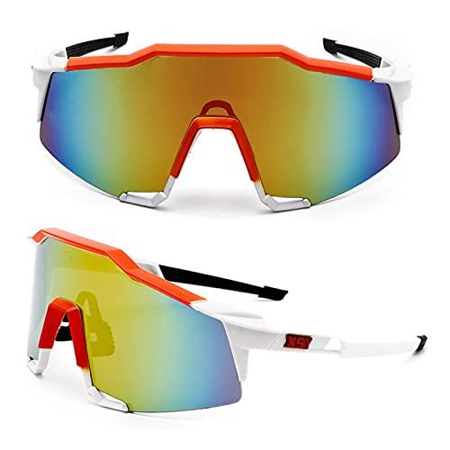 ACJB Gafas de sol para hombres y mujeres marco lentes para conducir correr pesca golf
