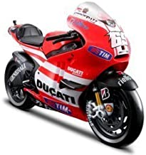 Maisto 1:10 Scale Nicky Hayden Ducati Racing 2011 Moto GP 11 Diecast Model Bike